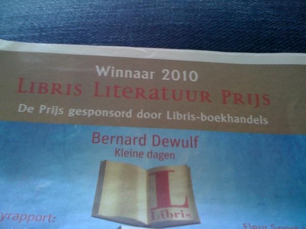 Jee. De Libris Literatuur Prijs is gesponsord door Libris-boekhandels.