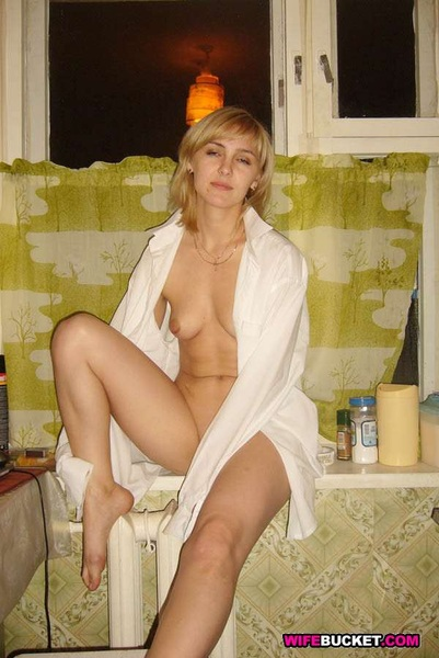 #Wifebucket #MILF goodness - skinny blonde wife