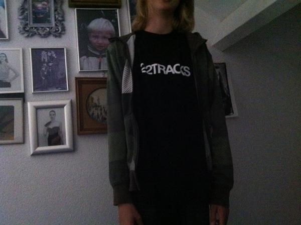 Aaron's new favorite t-shirt /cc @diegozer @22tracks