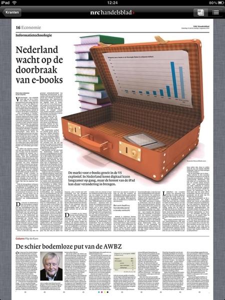 Is verbaasd over leegte in artikel van @hebben_NRC over de eBooks. #nrc