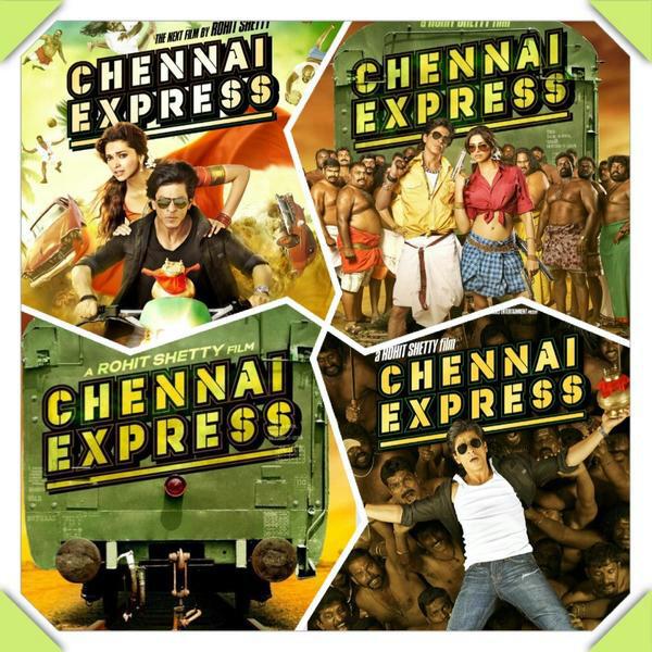 @iamsrk and @deepikapadukone's #ChennaiExpress! Ready Steady Po!!!! #bollywood