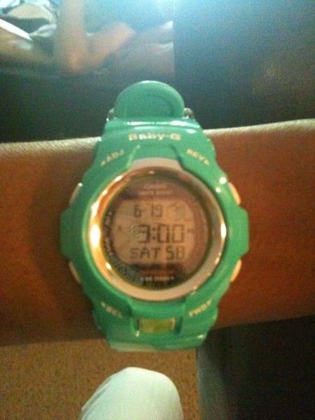 RT @JStarrRabbit Every1 welcome my new #Gshock buddy @R0yal3 *tic tic tock* ➛ she's a beauty, fresh out the box!