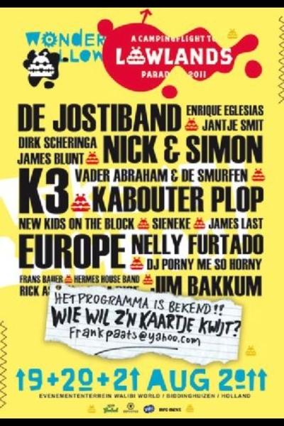Line up Posters Ll11 Poster Met Line-up is al