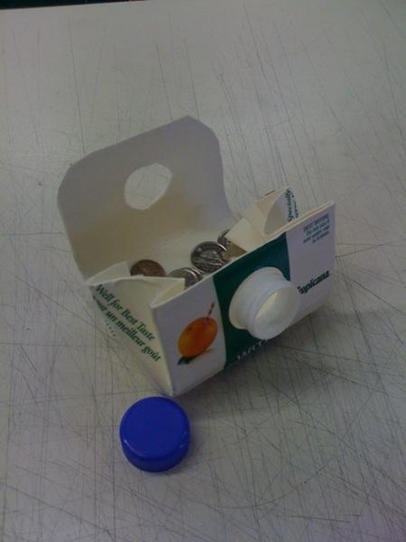 It's a coin purse!