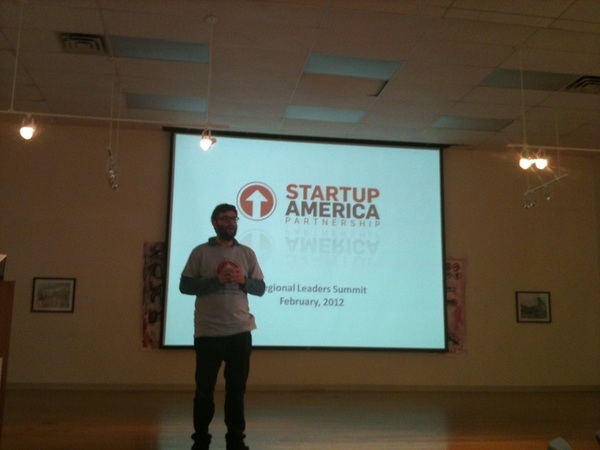 @zalmid @freshdiet sharing his story - most delicious food and healthy! Huge growth doesn't just happen in tech  @startupfl #startupamerica
