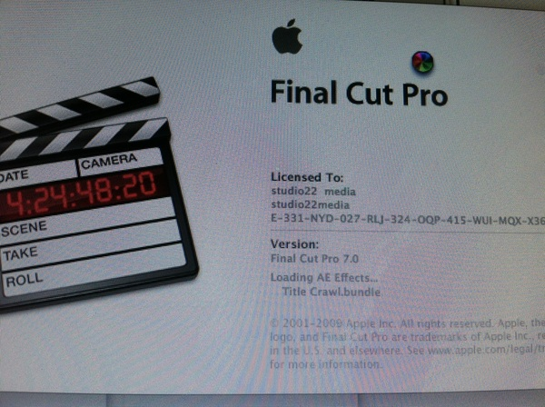Stepping up to final cut pro 7 Got 10 need to upgrade my osx till then 7 it is :)