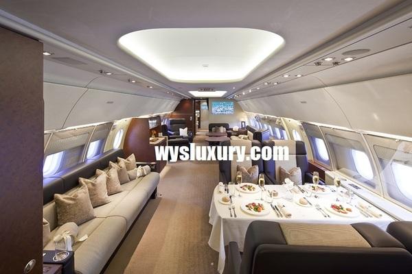 Airbus ACJ interior Range Private Corporate Jet Charter Flight Service