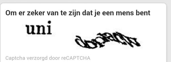 Go home Captcha, you are drunk. #twitter