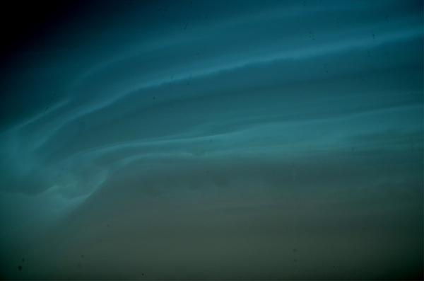 Aparte patronen en kleuren in onweerswolken #buienradar