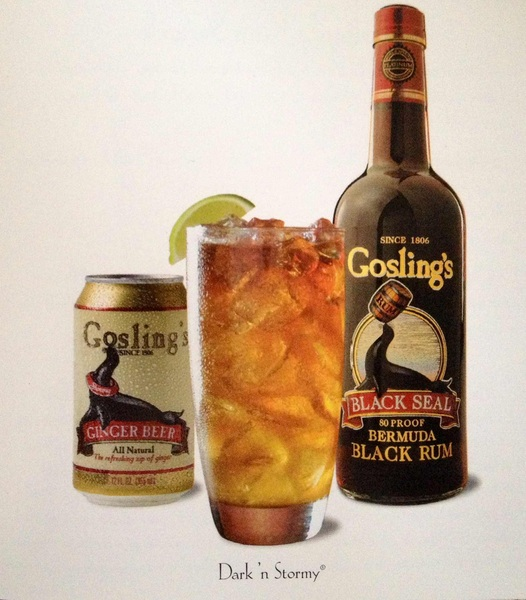 Experience a piece of Bermuda through a Dark 'n Stormy, their national cocktail #recipe