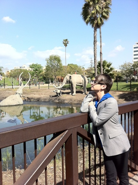 Drove by the tar pits and had to stop!