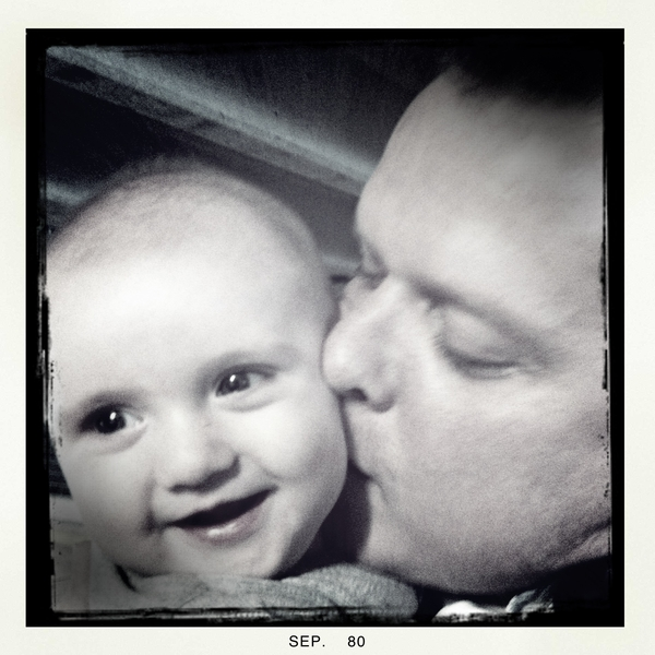 Fletcher of the day: daddy's home!